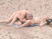 Mature Couple Had Fun Outdoors And Enjoys Messing Around