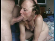 Mature Babe Gags On Big Thick Cock In This Scene